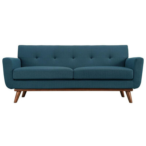 Our Engage Loveseat in Azure is on sale now.
