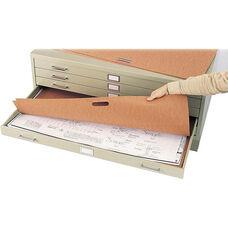Plan File Portfolios for Five or Ten Drawer Steel Flat File - Set of Ten
