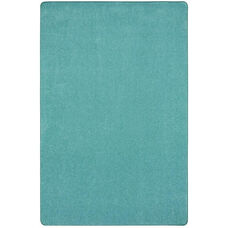 Kid Essentials Just Kidding Polyester Rug with Actionbac Backing - Seafoam - 72