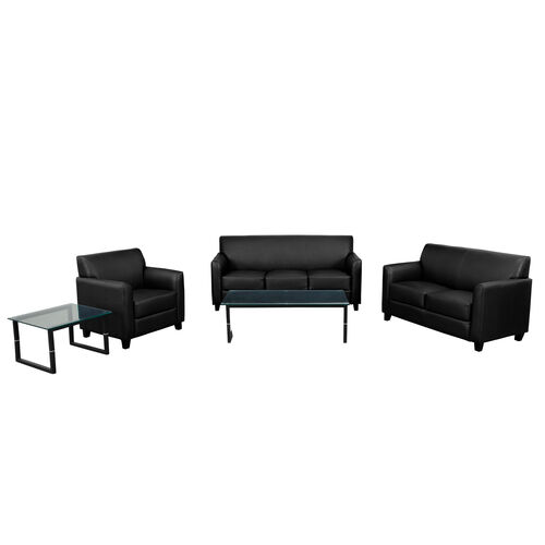 "Our HERCULES Diplomat Series Reception Set in Black with <span style=""color:#0000CD;"">Free </span> Tables is on sale now."