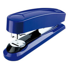 Novus B4C Flat Clinch Executive Stapler Compact - Blue