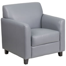 HERCULES Diplomat Series Gray LeatherSoft Chair