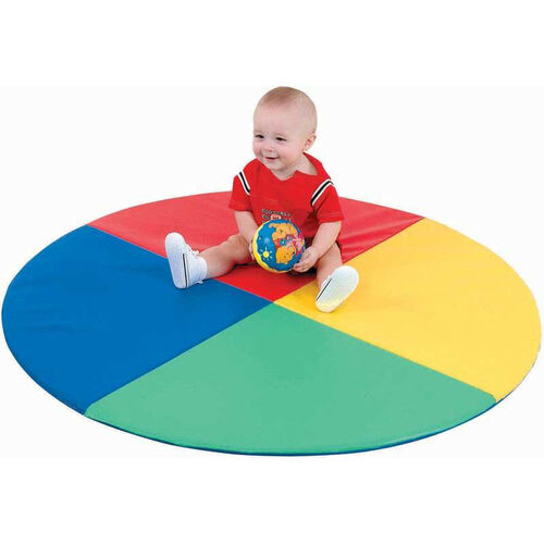 Our Four Color Pie Play Mat is on sale now.