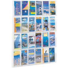 Reveal™ Twenty-Four Pamphlet Thermoformed Display - Clear