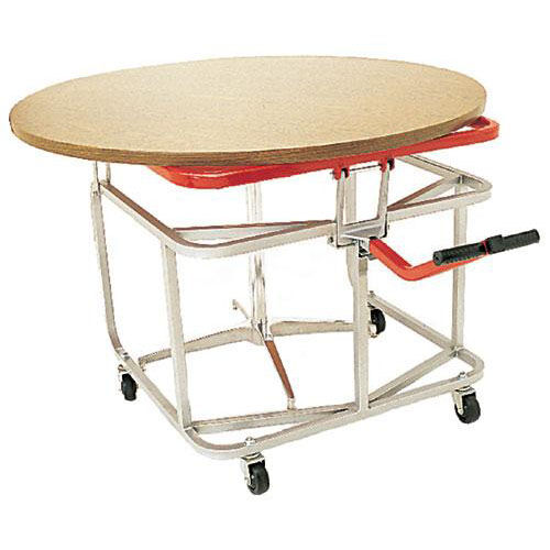 Steel Frame Table Tote with Bonded Vinyl Finish - 32
