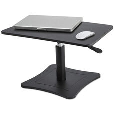 Victor® Black Portable High Rise Adjustable Laptop Stand