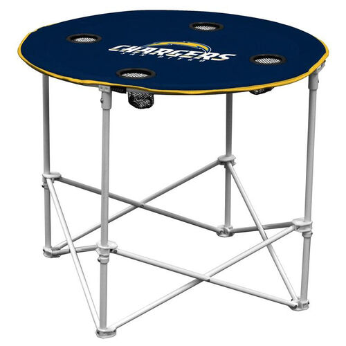 Our San Diego Chargers Team Logo Round Folding Table is on sale now.