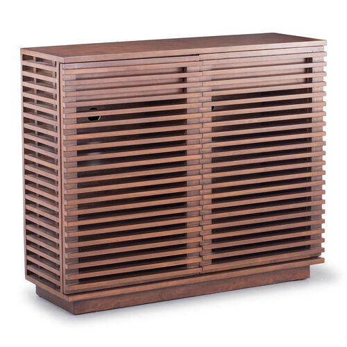 Our Linea Cabinet in Walnut is on sale now.