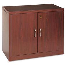 HON® 11500 Series Valido Storage Cabinet w/Doors - 36w x 20d x 29-1/2h - Mahogany