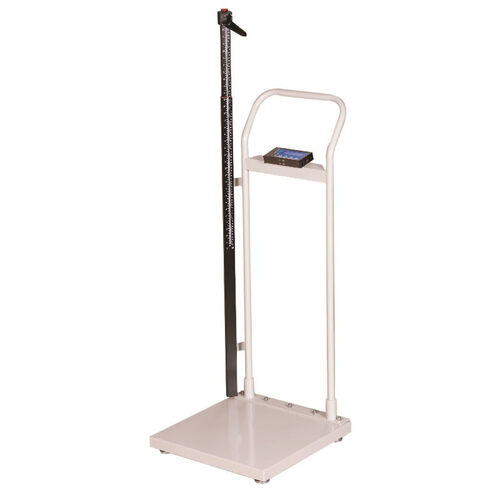 Our Durable White Physican Scale with LCD and Handrail - 660lb Capacity is on sale now.