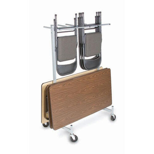 Our Compact Size Hanging Folded Chair and Table Storage Truck is on sale now.