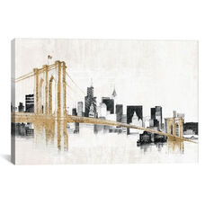 Skyline Crossing by Avery Tillmon Gallery Wrapped Canvas Artwork
