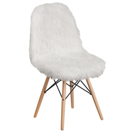 Our Shaggy Dog White Accent Chair is on sale now.
