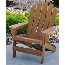 Cape Cod Recycled Plastic Adirondack Chair in Cedar
