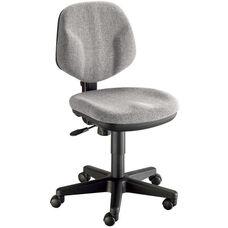 Comfort Classic Deluxe Height Adjustable Task Chair - Gray