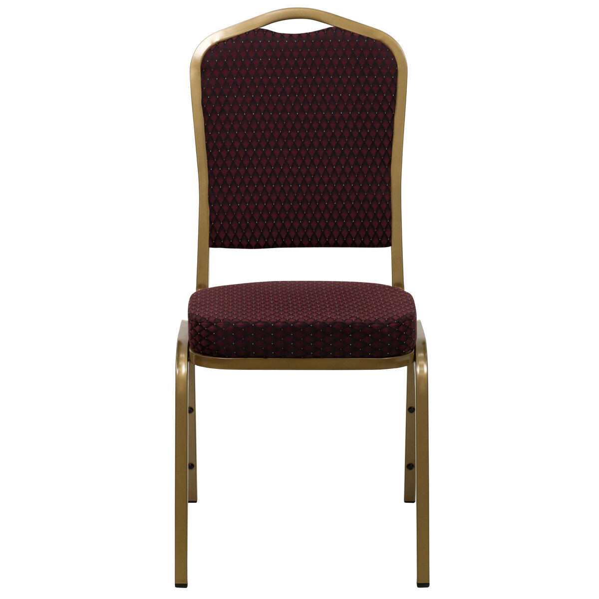 Flash Furniture HERCULES Series Crown Back Stacking Banquet Chair in ...