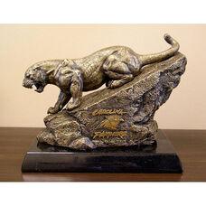 Carolina Panthers Tim Wolfe Sculpture