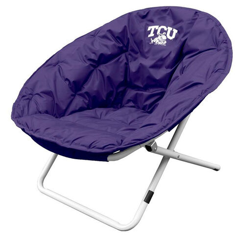 Texas Christian University Team Logo Folding Sphere Chair
