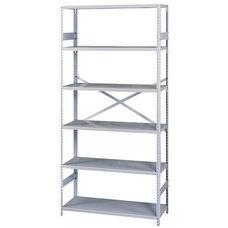 Tennsco Commercial Shelf - 6 Shelves - 18