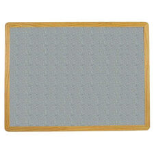 2700 Series Tackboard with Flat Wood Face Frame - Claridge Cork - 48