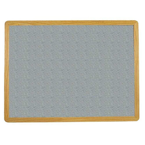 Our 2700 Series Tackboard with Flat Wood Face Frame - Claridge Cork - 48