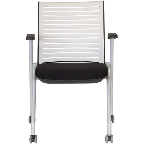 Our Ace Multi Purpose Nesting Chair - Black Seat and White Back is on sale now.
