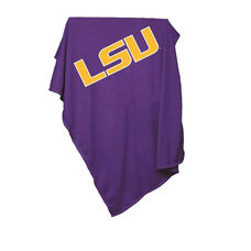 Louisiana State University Team Logo Sweatshirt Blanket