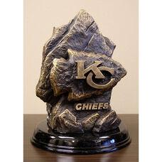 Kansas City Chiefs Tim Wolfe Sculpture