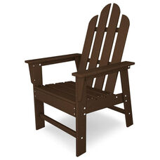 POLYWOOD® Long Island Dining Chair - Mahogany