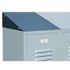 Powder Coated Steel Individual Slope Top for Lockers