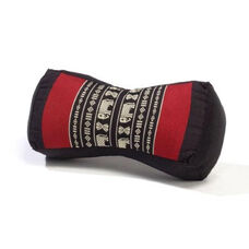 Bone Yoga Pillow - Black and Red
