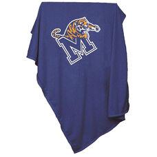 University of Memphis Team Logo Sweatshirt Blanket