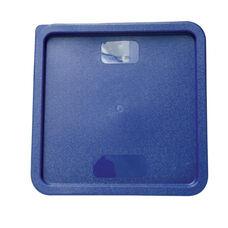Plastic Square Lid in Blue