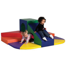 SoftZone® Bright Colors Vinyl Covered Foam Against the Wall Peaks and Passages Play Center