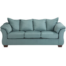 Signature Design by Ashley Darcy Sofa in Sky Microfiber