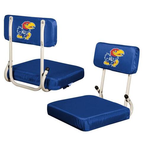 Our University of Kansas Team Logo Hard Back Stadium Seat is on sale now.