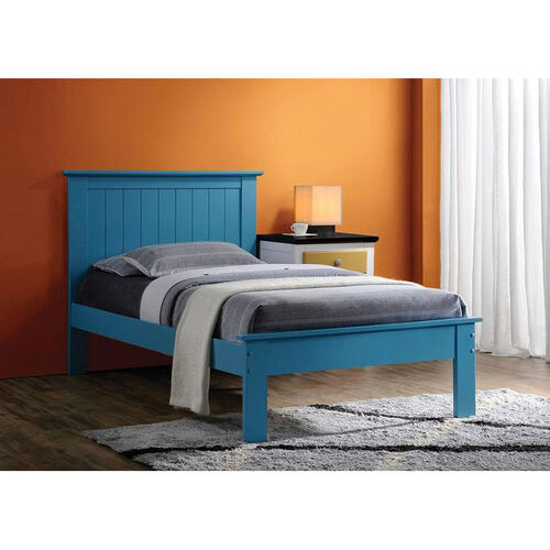 Our Prentiss Wooden Bed with Panel Headboard - Queen - Blue is on sale now.