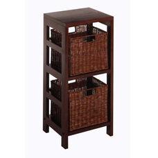 Leo 3-Pc Storage Shelf and Baskets