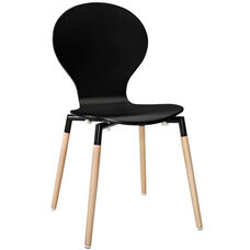 Path Dining Chair in Black