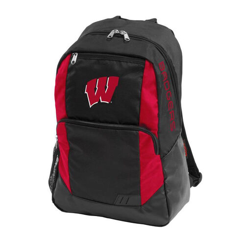 University of Wisconsin Team Logo Closer Backpack