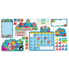 Trend Enterprises Sea Buddies Calendar Bulletin Board Set