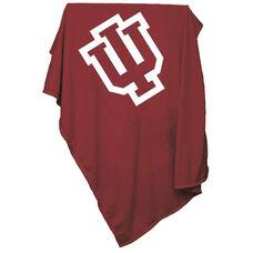 Indiana University Team Logo Sweatshirt Blanket