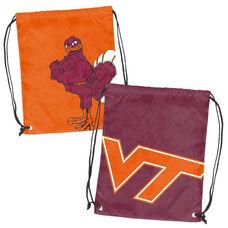 Virginia Tech Team Logo Doubleheader Drawstring Backsack