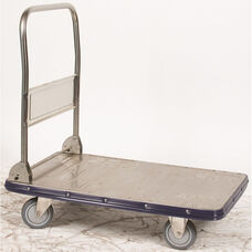 Stainless Steel Folding Handle Truck With Platform