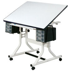 Craftsmaster Art, Drawing, and Hobby Table - White
