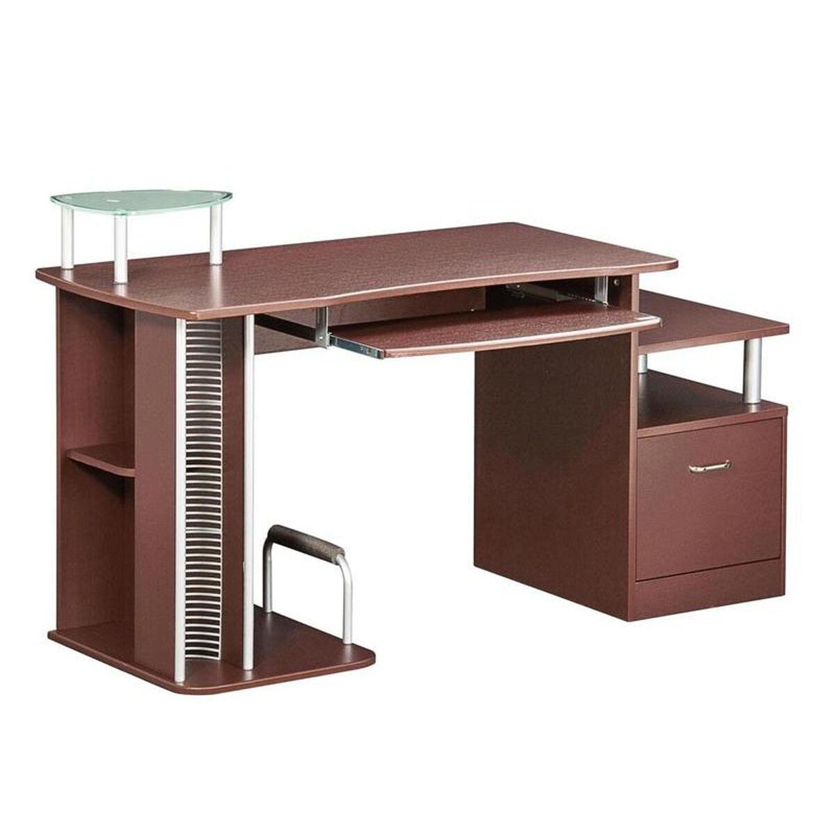 Images. Techni Mobili Multifunction Contemporary Computer Desk ...