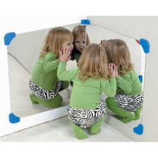 Wall Hung Corner Mirror Pairs