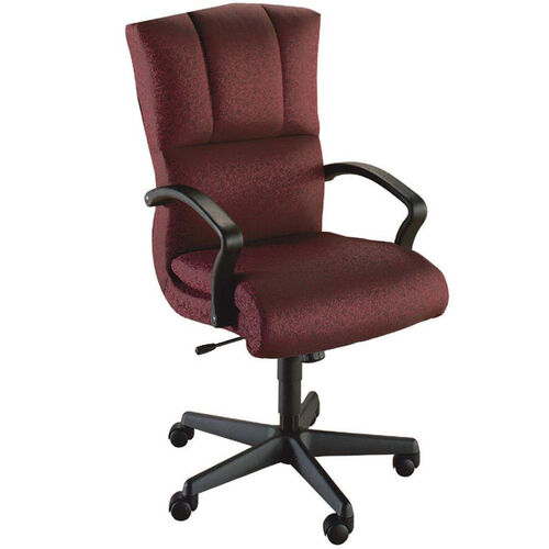 Our Quick Ship Trifecta Executive Swivel Chair with Black Urethane Arms is on sale now.