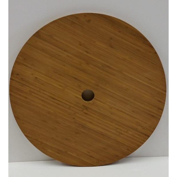 ... Our 22u0027u0027 Round Bamboo Table Top With Umbrella Hole Is On Sale Now.