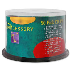 Compucessory Branded Surface Cd-Rw - Pack Of 50